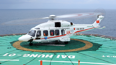 VN-8629 - Agusta-Westland AW-189 - Southern Service Flight Company