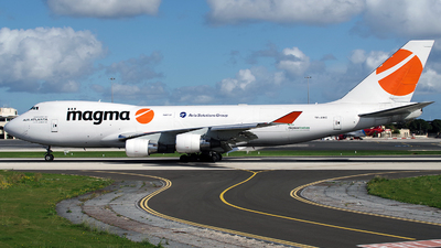 TF-AMC - Boeing 747-412F(SCD) - Magma Aviation (Air Atlanta Icelandic)