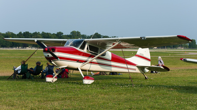 A picture of N1698D - Cessna 170B - [20340] - © SpotterPowwwiii