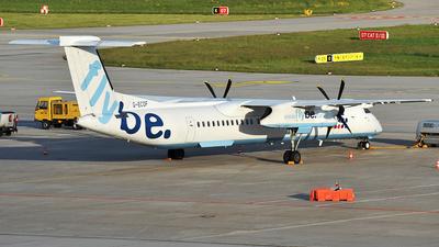 A picture of GECOF - De Havilland Canada Dash 8400 - Flybe - © Claus Seifert
