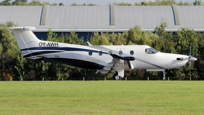 OY-AWH - Pilatus PC-12/47E - Private
