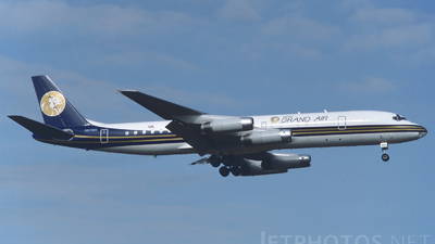 N801MG - Douglas DC-8-62H - MGM Grand Air