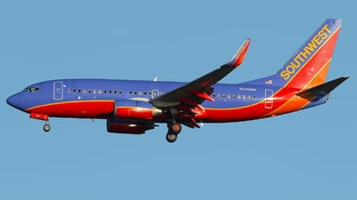 N408WN - Boeing 737-7H4 - Southwest Airlines