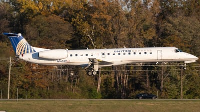 A picture of N16559 - Embraer ERJ145LR - [145603] - © Erik Goodfellow
