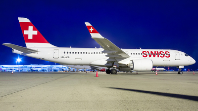 A picture of HBJCB - Airbus A220300 - Swiss - © Viktor László - Budapest Aviation Photography