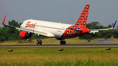 PK-LUQ - Airbus A320-214 - Batik Air