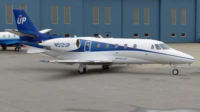 N512UP - Cessna 560XL Citation XLS - Wheels Up