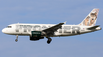 N941FR - Airbus A319-111 - Frontier Airlines