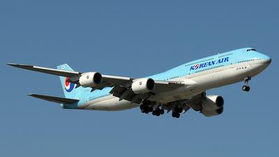 A picture of HL7644 - Boeing 7478B5 - Korean Air - © ECHO