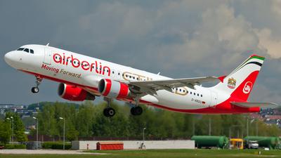D-ABDU - Airbus A320-214 - Air Berlin