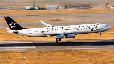 D-AIGV - Airbus A340-313 - Lufthansa