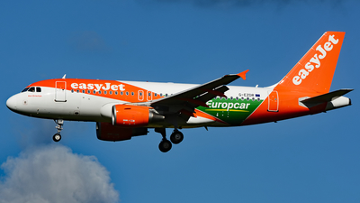 G-EZDR - Airbus A319-111 - easyJet