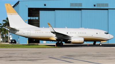 N324CH - Boeing 737-7BC(BBJ) - Private