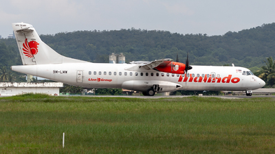 9M-LMW - ATR 72-212A(600) - Malindo Air
