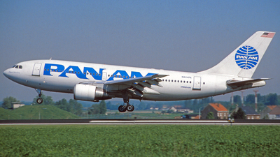 N804PA - Airbus A310-222 - Pan Am