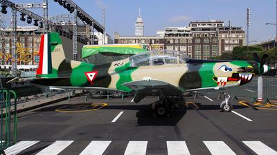 2557 - Pilatus PC-7 - Mexico - Air Force