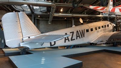 D-AZAW - Junkers Ju-52/3m - Lufthansa