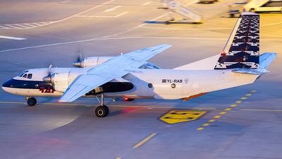YL-RAB - Antonov An-26B - Raf-Avia Airlines