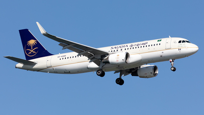 A picture of HZAS84 - Airbus A320214 - Saudia - © Alexandre Fazan