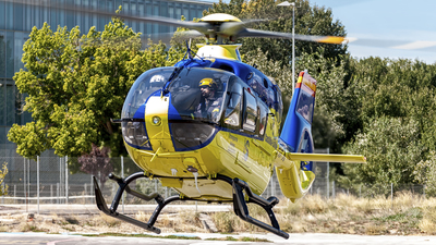 EC-MPK - Airbus Helicopters H135 - Spain - Government