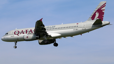 A7-ADJ - Airbus A320-232 - Qatar Airways