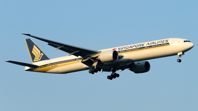 9V-SWY - Boeing 777-312ER - Singapore Airlines