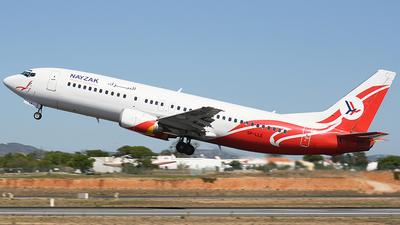 SP-LLE - Boeing 737-45D - Nayzak Air Transport