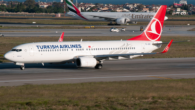 TC-JGZ - Boeing 737-8F2 - Turkish Airlines