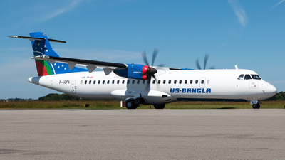 F-HOPA - ATR 72-212A(600) - US-Bangla Airlines