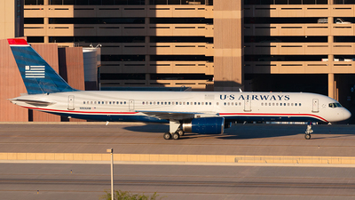 N906AW - Boeing 757-2S7 - US Airways