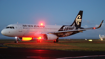 ZK-OXL - Airbus A320-232 - Air New Zealand