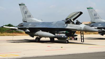 89-2118 - General Dynamics F-16C Fighting Falcon - United States - US Air Force (USAF)