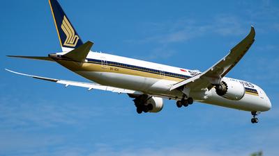 9V-SCH - Boeing 787-10 Dreamliner - Singapore Airlines