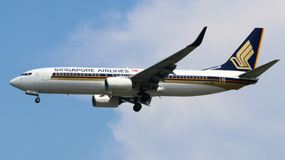 A picture of 9VMGD - Boeing 7378SA - Singapore Airlines - © xavierchen2002