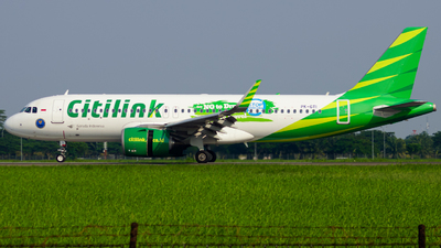 A picture of PKGTI - Airbus A320251N - Citilink - © Wilbert Tana