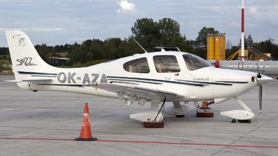 A picture of OKAZA - Cirrrus SR22 - [0468] - © Łukasz Stawiarz