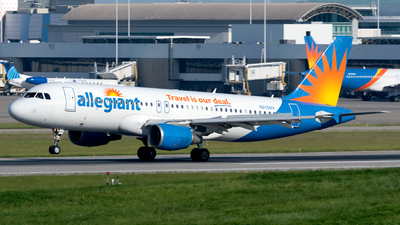 A picture of N215NV - Airbus A320214 - Allegiant Air - © Paul W
