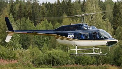 OH-HAT - Agusta-Bell AB-206B JetRanger II - Helikopterikeskus