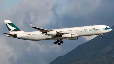 B-HXJ - Airbus A340-313X - Cathay Pacific Airways