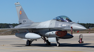 1604 - General Dynamics F-16AM Fighting Falcon - Romania - Air Force