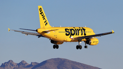 N526NK - Airbus A319-132 - Spirit Airlines