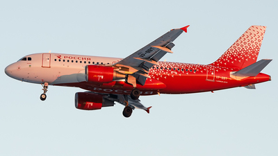VP-BBT - Airbus A319-112 - Rossiya Airlines