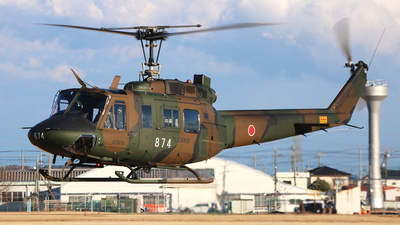 41874 - Bell UH-1J Huey - Japan - Ground Self Defence Force (JGSDF)