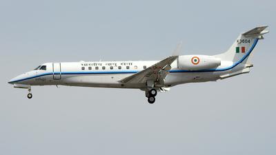 K3604 - Embraer ERJ-135BJ Legacy - India - Air Force
