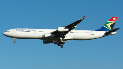 ZS-SXA - Airbus A340-313E - South African Airways