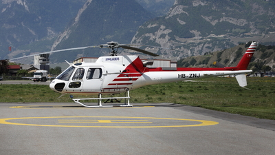 HB-ZNJ - Eurocopter AS 350B3 Ecureuil - Air Zermatt