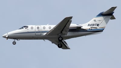 A picture of N491TM - Hawker Beechcraft 400XP - [RK564] - © Kaz T