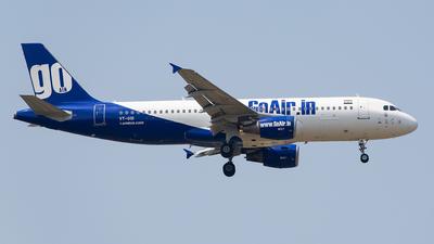 VT-GOI - Airbus A320-214 - Go Air