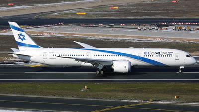 A picture of 4XEDI - Boeing 7879 Dreamliner - El Al - © Daniel Klein