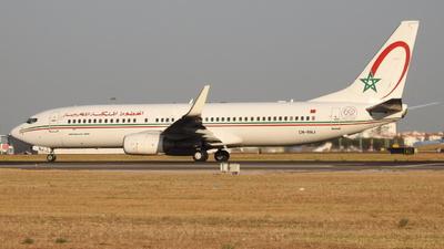 CN-RNJ - Boeing 737-8B6 - Royal Air Maroc (RAM)